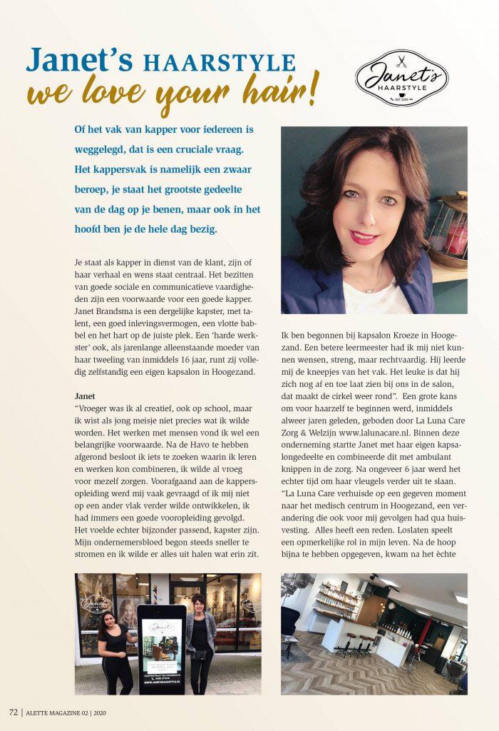 Alette magazine 02 / pagina 1