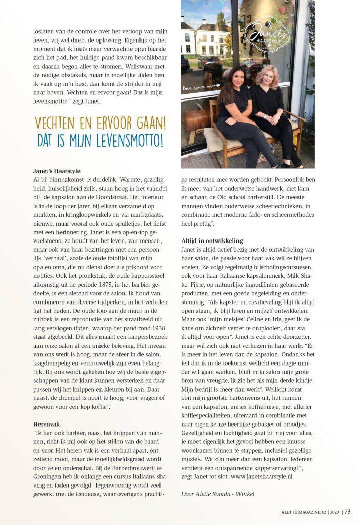 Alette magazine 02 / pagina 2